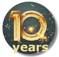 Anniversary button