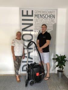 Sponsoring Nass-Trockensauger Diakoniestation Schozach-Bottwartal